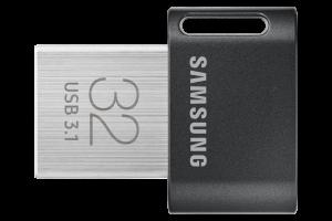 PEN DRIVE 32GB SAMSUNG  FIT PLUS TITAN GRAY PLUS 1