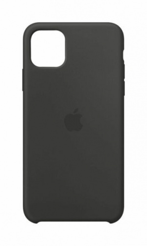 FUNDA APPLE IPHONE 11 PRO MAX SILICONA NEGRA 1
