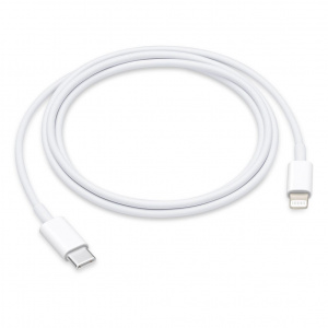 CABLE APPLE CONECTOR LIGHTNING A USB C 1M 1