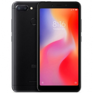 "TELEFONO MOVIL XIAOMI REDMI 6 NEGRO 4G 5.45""/OC2/3GB/32GB 1"