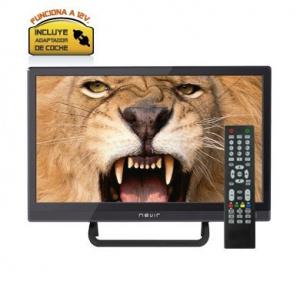 "TELEVISION 16"" NEVIR NVR-7412 HD READY HDMI USB 12V NEGRO 1"