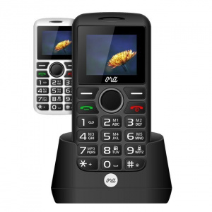 "TELEFONO MOVIL ORA PHONE MIRA S1701 1,77""/DUAL SIM/ NEGRO 1"
