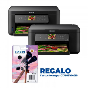 PACK EPSON 2  XP-5100 +  CARTUCHO NEGRO REGALO 1