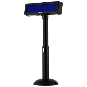VISOR TPV VFD POSIFLEX 2X20 CARACTERES USB NEGRO 1