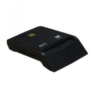 LECTOR TARJETA CHIP DNIE USB WOXTER NEGRO TR3.0 1