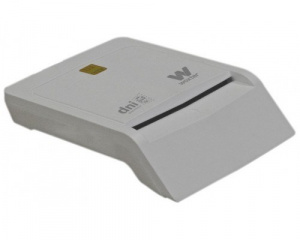 LECTOR TARJETA CHIP DNIE USB WOXTER BLANCO TR3.0 1
