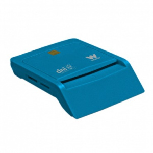 LECTOR TARJETA CHIP DNIE USB WOXTER AZUL TR3.0 1