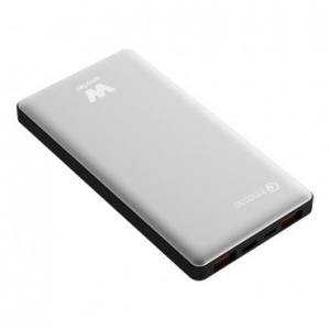 POWER BANK WOXTER QC 10500 SILVER 1