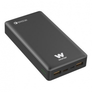 CARGADOR USB POWER BANK WOXTER QC 20500 BLACK 1