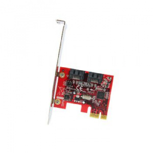 TARJETA PCIE 2XSATA STARTECH 1