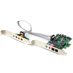 STARTECH TARJETA SONIDO PCI EXPRESS 7.1 24/192 1