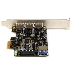 STARTECH TARJETA PCI EXPRESS CON 4 PUERTOS USB 3.0 1