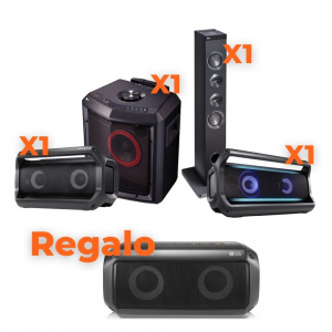 BUNDLE AUDIO ALTAVOZ LG + ALTAVOZ PK3 DE REGALO 1