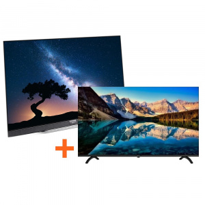 "TELEVISION 55"" METZ 55S9A62A  OLED 4K + TV 32"" METZ 32E6X2 1"