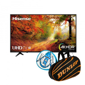 """TELEVISION 65"""" HISENSE 65A6140 4K UHD HDR SMART TV + PADEL 1"""