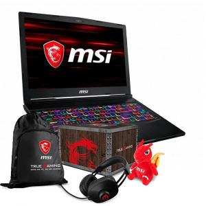 PORTATIL GAMING MSI GE63 I7-8750H/16G/256SSD+1T/RTX2060/15/W10 1