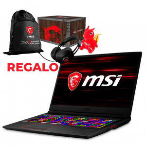 PORTATIL GAMING MSI GE75 I7-9750H/32G/1TSSD/RTX2070/17/W+REGAL 1