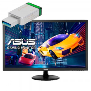 "MONITOR GAMING 24"" ASUS VP248H FHD HDMI/VGA + CHEQ 1"