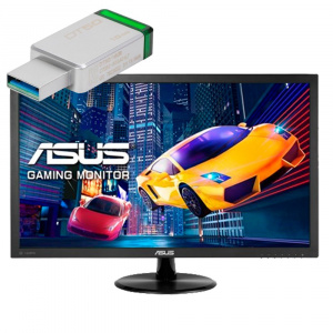 "MONITOR GAMING 27"" ASUS VP278H FHD HDMI/VGA + CHEQ 1"
