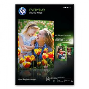 HP PAPEL FOTOGRAFICO SATIN A4 210X297MM 25 HOJAS 1