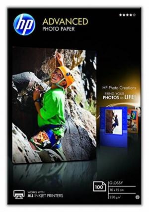 HP PAPEL FOTOGRAFICO 10X15 100 HOJAS 250GR PACKX2 1