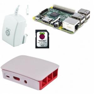 RASPBERRY PI 3 BOARD TYPE B 1GB+32GB+CAJA+FUENTE 1