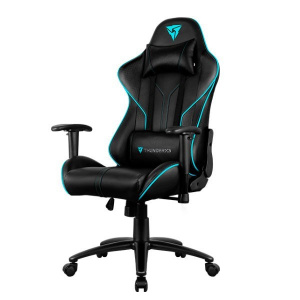 SILLA GAMER THUNDERX3 RC3 HEX NEGRA RGB 1