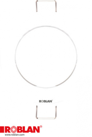 LED ARO CIRCULAR BLANCO ROBLAN EMPOTRABLE FIJO 1