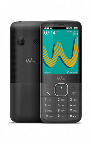 "TELEFONO MOVIL WIKO RIFF3 PLUS NEGRO 2.4"" 1"
