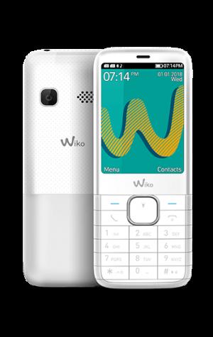 "TELEFONO MOVIL WIKO RIFF3 PLUS BLANCO 2.4"" 1"