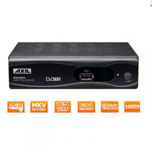 SINTONIZADORA ENGEL DVB-T2  RT0430T2 HD + SCART 1