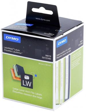 ETIQ DYMO TT LW 99019 BLANCO/NEGRO 59X190MM  110U 1