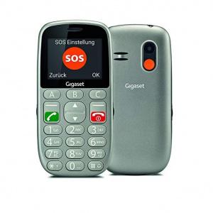 "TELEFONO MOVIL GIGASET GL390 GRIS 2.8"" 1"