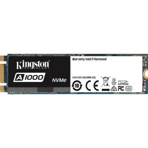 DISCO DURO SOLIDO SSD KINGSTON  480GB M.2 2280 NVME 1
