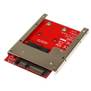 STARTECH ADAPTADOR CONVERSOR SSD MSATA A SATA 2,5 1