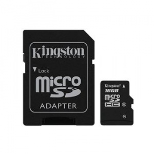 MEMORIA MICRO SD 16GB KINGSTON 1ADAP [25] 1