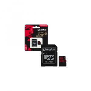 MEMORIA MICRO SD 32GB KINGSTON CANVAS REACT 4K 1