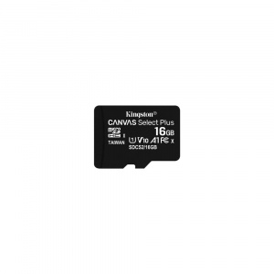 MEMORIA MICRO SD 16GB KINGSTON CLASE 10 UHS-I 1