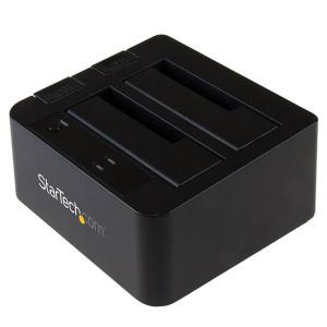 STARTECH BASE CONEXION USB 3.1 2 BAHIAS SATA 1