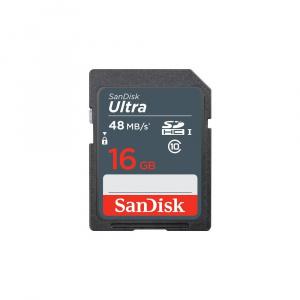 MEMORIA SD 16GB SANDISK ULTRA CLASE 10 1