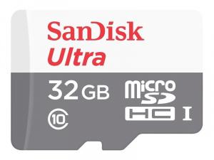 MEMORIA MICRO SDHC 32GB SANDISK ULTRA CLASE10/100M 1