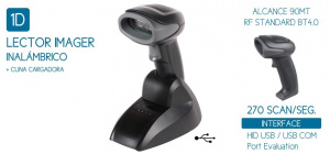 LECTOR IMAGER SEYPOS PRO-CODE 1D BT WIRELESS 1