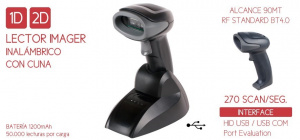 LECTOR IMAGER SEYPOS PRO-CODE 2D BT WIRELESS 1