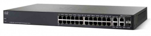 SWITCH CISCO 24PUERTOS 10/100/1000 SG350-28 1