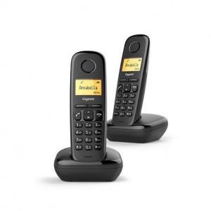 TELEFONO SIEMENS GIGASET A170 DUO NEGRO 1
