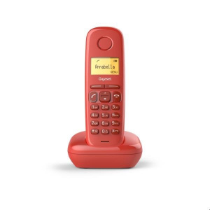 TELEFONO SIEMENS GIGASET A170 ROJO 1