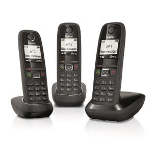 TELEFONO SIEMENS GIGASET TRIO AS405 NEGRO 1