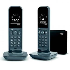 TELEFONO SIEMENS GIGASET CL390 GRIS DUO 1
