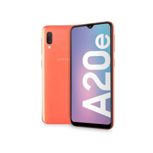 "TELEFONO MOVIL SAMSUNG GALAXY A20E CORAL 5.8""/OC1.6/3GB/32GB 1"