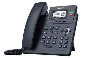 TELEFONO YEALINK IP T31P CON 2 LÍNEAS Y VOZ HD 1